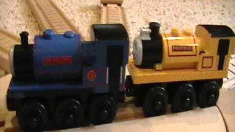 Proteus the Magical Engine Review ThomasWoodenRailway Discussion 40