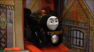 Stephen in Victor's Loco Motives