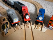 Sir Topham Hatt, Frank, Skarloey, Wilbert And Bulgy