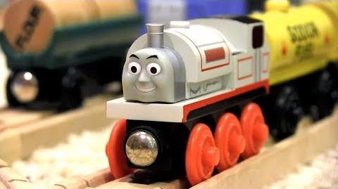 Flat Stanley Thomas & Friends Wooden Railway Adventures Episode 209