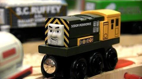 Dirty 'Arry Thomas & Friends Wooden Railway Adventures Episode 206