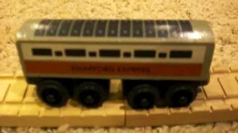 1994 Knapford Express Coach Review ThomasWoodenRailway Discussion 1-0