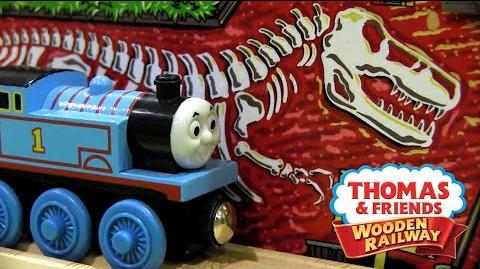 Thomas-saurus Rex Set Review ThomasWoodenRailway Discussion 75