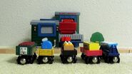 Sodor Cookie Cars at Mr. Jolly's Chocolate Factory