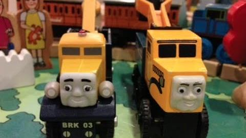 Butch (Sodor Heavy Recovery Unit) Review ThomasWoodenRailway Discussion 57