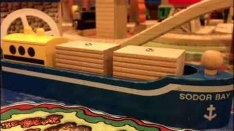 Sodor Bay Cargo Ship Review ThomasWoodenRailway Discussion 60