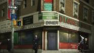 Diannes Diner outside