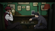 Klaus and Steven playing chess