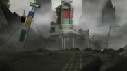 Diannes Diner destroyed