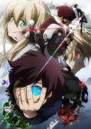 Kekkai Sensen Anime Key Visual 2