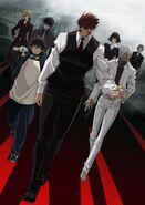 Kekkai Sensen Anime Key Visual