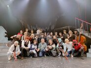 Cast group stageplay