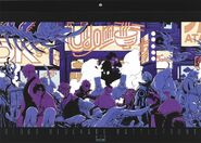 Calendar cover by Yashuhiro Nightow