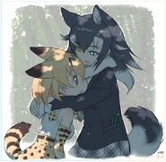 Yoshizaki serval wolf