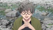 Akio introduces himself (anime)