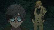 Akio questioned by Inugami (anime)