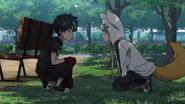 Kabane comes back to Kon's place (anime)