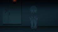 Shiki avoiding to make any noise (anime)