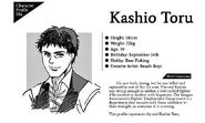 Kashio Toru bio