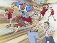 Apachai in his Basketball game