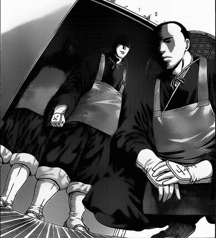 Yami's Buddhist Monks