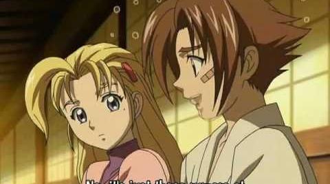 Kenichi y miu xD