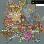 Kenshi Political Location Map