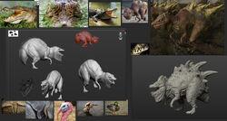 Kenshi 2 Swamp Raptor model.jpg