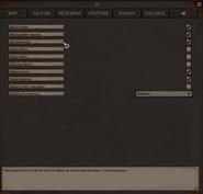 AI settings