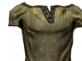 Leather Turtleneck