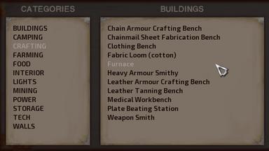 Building panel (since ver. 0.90.X)