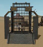 Defensive Gate Closed