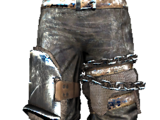 Plated Drifter's Leather Pants