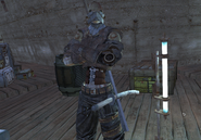 Mercenary Leather Armour Hive