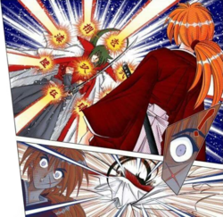 Hiko uses kuzu ryu sen.png