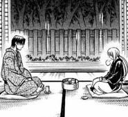 MangaKenshinAndAoshiHaveTea