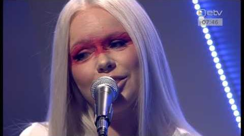 Kerli - Spirit Animal (Live at Etv)