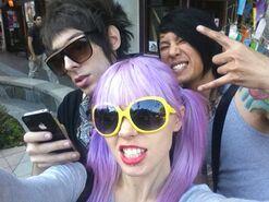 Kerli purple hair 5