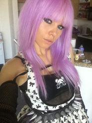 Kerli purple hair 1
