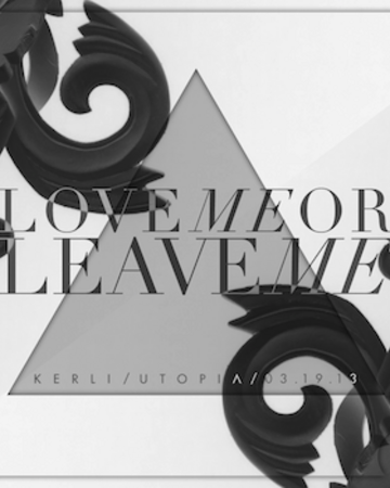 COVER - Love Me or Leave Me.png