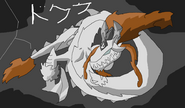 Dokuku dragon form by rizegreymon22-d3ccpby