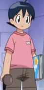 Fuyuki's first outtfit during part one of Movie 5