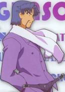 Baio Nishizawa with an awesome white scarf