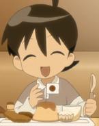 Lil Fuyuki and food