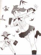 Natsumi and Fuyuki Swallows