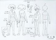 Natsumi & fuyuki school uniform reference