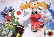 Promo poster for Keroro Gunso Movie 3