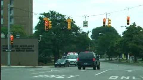 Weird left turn signal