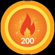 Perseid-badge
