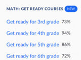 Math: Get Ready Courses